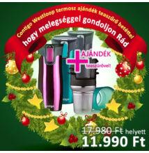Contigo West loop termosz + ajándék teaszűrő