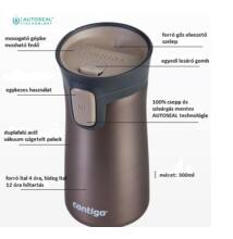 "Contigo Pinnacle ""latte"" termosz  300 ml"