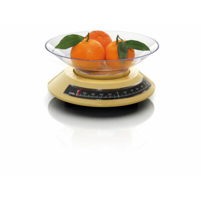 Laica mechanikus konyha mérleg 2Kg (sárga)
