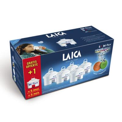 """LAICA 5+1 ajándék bi-flux """"mineral balance""""  vízszűrőbetét"""