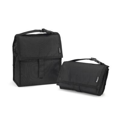 """PACKIT 4,4L """"minihűtő"""" uzsonnás táska fekete"""