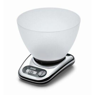 LAICA digitális konyhai mérleg mély mérőtállal 5Kg/1gr