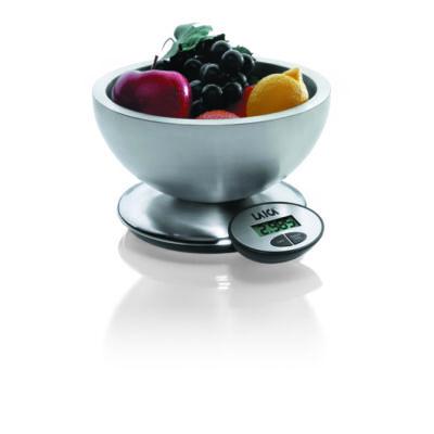 LAICA digitális konyhai diétás mérleg tállal