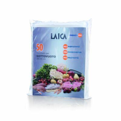 Laica 50 db 20*28 cm BPA mentes  légcsatornás vákuum csomagoló tasak