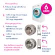 Ecozone mosógép és mosogatógép tisztító és vízkőoldó (6 alkalom)
