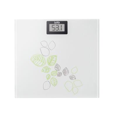 Laica elektronikus személymérleg (fehér/zöld)