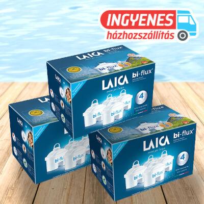 LAICA 3*4 db bi-flux univerzális szűrőbetét ingyenes szállítással