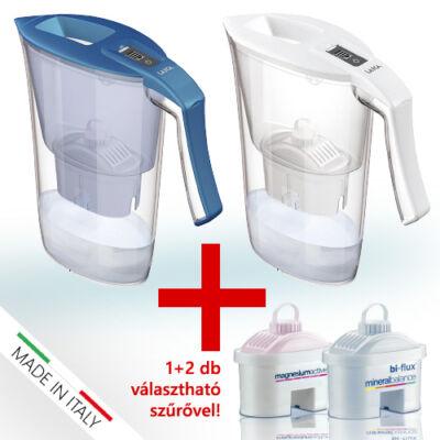 LAICA Carmen 2,3 literes vízszűrő kancsó +2 db választható szűrőbetéttel
