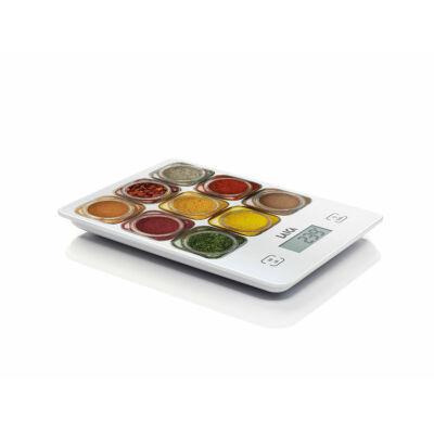 Laica digitális konyhamérleg fűszeres dizájn 5Kg
