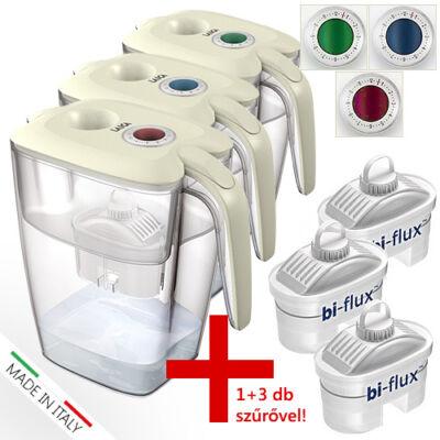 LAICA Róma XXL vízszűrő kancsó 1+3 db univerzális szűrőbetéttel