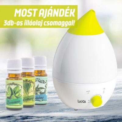 BABY LINE - ultrahangos hidegpárásító és  aromaterápiás készülék 3570 Ft értékű illóolaj csomaggal
