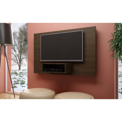 Bonita polcos TV panel (sötétbarna)