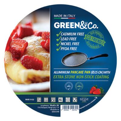 Green&Co. Extra Stone Palacsinta sütő 25cm, 2.2mm