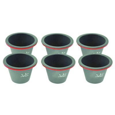 BPA mentes szilikon  6 db -os  puding sütőforma