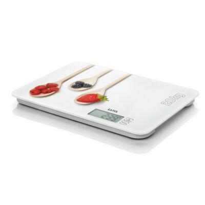 """Laica digitális konyhamérleg """"fehér konyha""""  20Kg"""