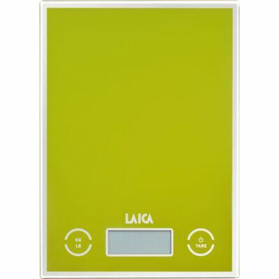 Laica digitális konyhai mérleg 5kg/1g ZÖLD