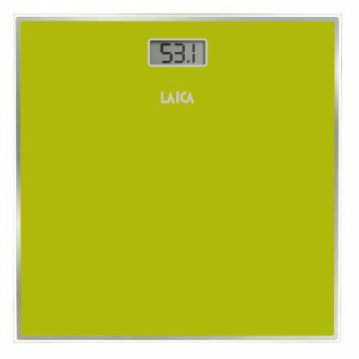 Laica digitális személymérleg 150kg/100g ZÖLD