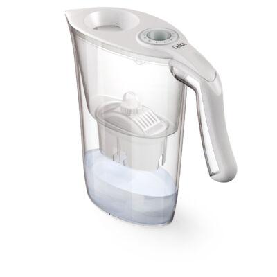Laica Norma fehér vízszűrő kancsó AJÁNDÉK kulaccsal