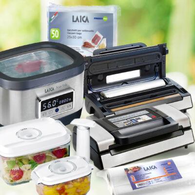 """LAICA """"Ultimate Plus"""" sous vide csomag (VT31200+SVC200+VT33020+VT35100+VT35090)"""