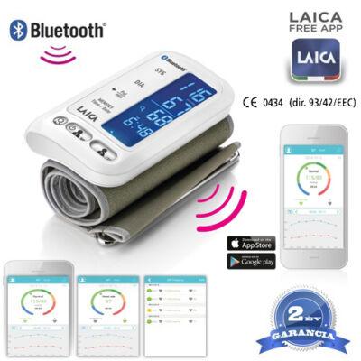 Okos felkaros vérnyomásmérő -bluetooth kapcsolattal