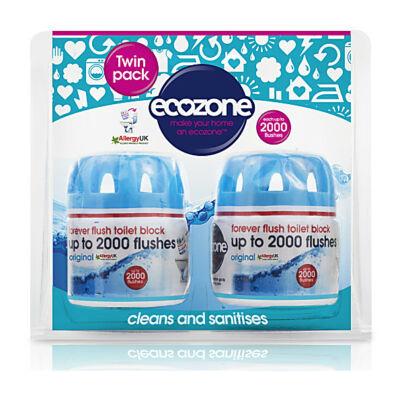Ecozone wc tartály illatosító és vízkövesedés gátló duo (2*2000 öblítéshez)