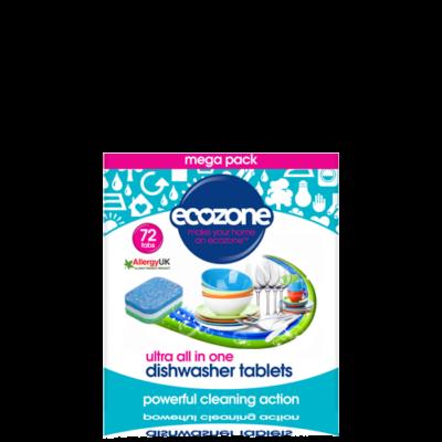 Ecozone ultra mosogatógép tabletta (72db)