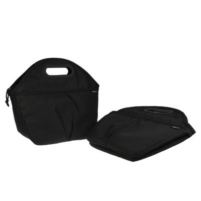 """PACKIT 5L """"minihűtő"""" utazó uzsonnás táska fekete"""
