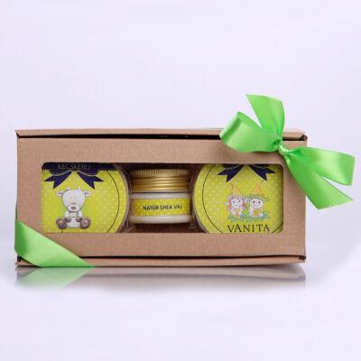 Vanita manócska natúr shea csomag