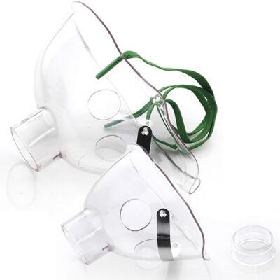 LAICA maszk szett hordozható inhalátorhoz (felnőtt, gyerek, csatlakozó)