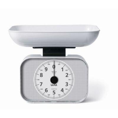 CSOMGOLÁSSÉRÜLT LAICA mechanikus konyhai mérleg - 10 kg-ig